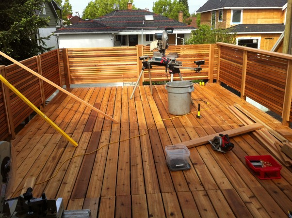 Roof Top Deck contractor Vancouver